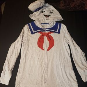 Ghostbusters Stay Puft onesie